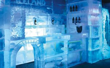 Bar Iceland deixa o inverno de Campos ainda mais atrativo